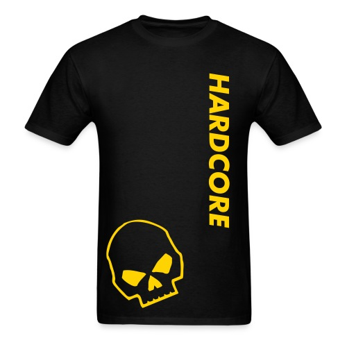 Hardcore Team Skull Shirt Mens - Men's T-Shirt