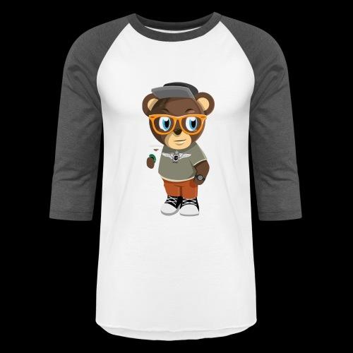 Pook The Bear - Baseball T-Shirt