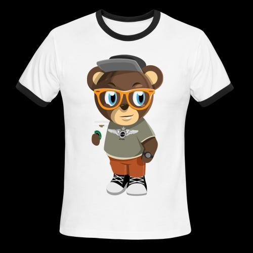 Pook The Bear - Men's Ringer T-Shirt