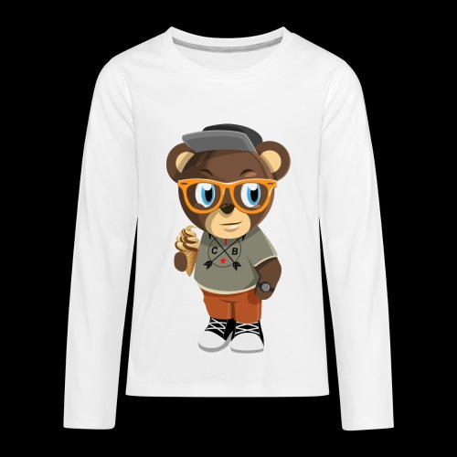Pook The Bear: Kids - Kids' Premium Long Sleeve T-Shirt