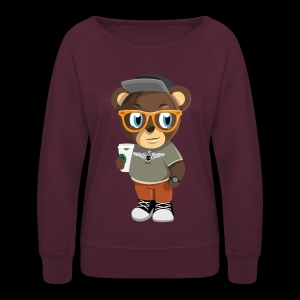 Pook The Bear - Women's Crewneck Sweatshirt