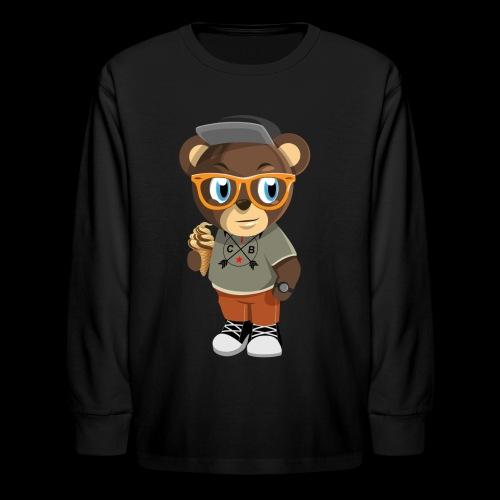 Pook The Bear: Kids - Kids' Long Sleeve T-Shirt