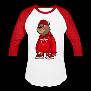 Freddie The Bear - Baseball T-Shirt