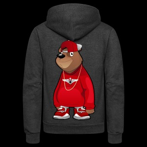 Freddie The Bear - Unisex Fleece Zip Hoodie