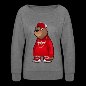 Freddie The Bear - Women's Crewneck Sweatshirt