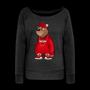 Freddie The Bear - Women's Wideneck Sweatshirt