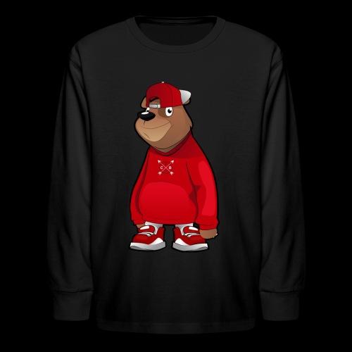 Freddie The Bear: Kids - Kids' Long Sleeve T-Shirt