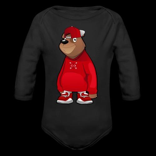 Freddie The Bear: Kids - Organic Long Sleeve Baby Bodysuit