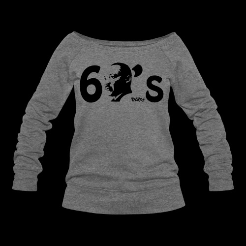 60's Baby - Women's Wideneck Sweatshirt