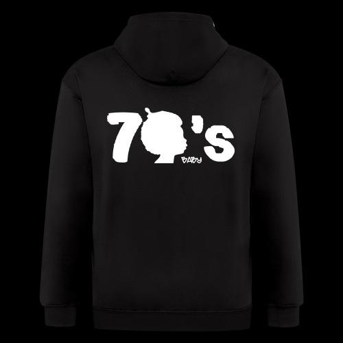 70's Baby - Men's Zip Hoodie