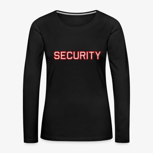 Security - Women's Premium Long Sleeve T-Shirt