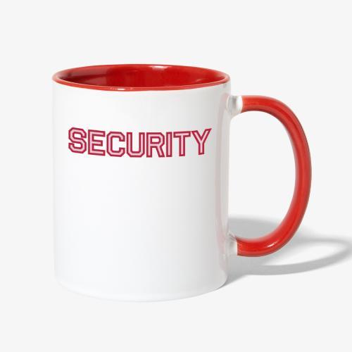 Security - Contrast Coffee Mug