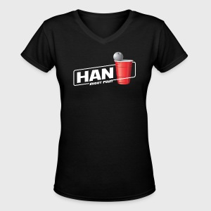 Han Solo Cup - Women's V-Neck T-Shirt