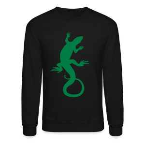 Lizard Art Sweatshirt Shirt Reptile Shirts - Crewneck Sweatshirt