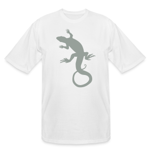 Men's Lizard Art Shirt Plus Size 4XL Reptile T-shirt - Men's Tall T-Shirt