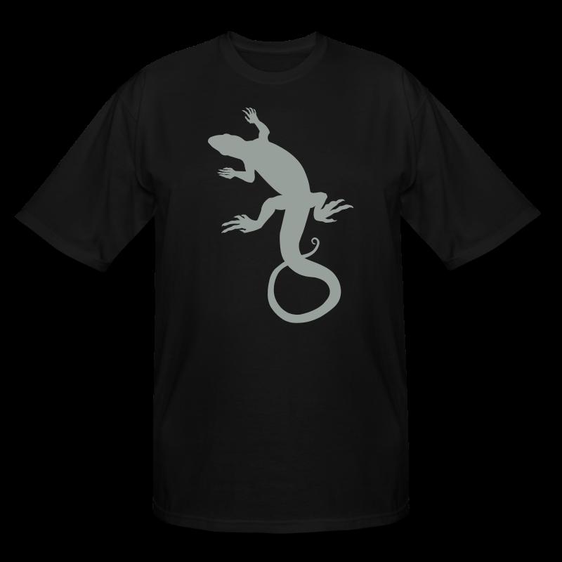 Men's Lizard Art Shirt Plus Size 4XL Reptile T-shirt - Men's Tall T-Shirt