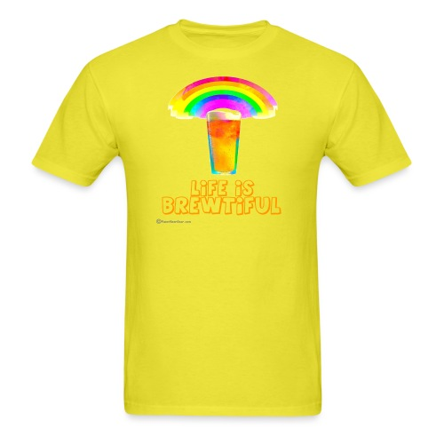 Life Is Brewtiful Men's T-Shirt - Men's T-Shirt