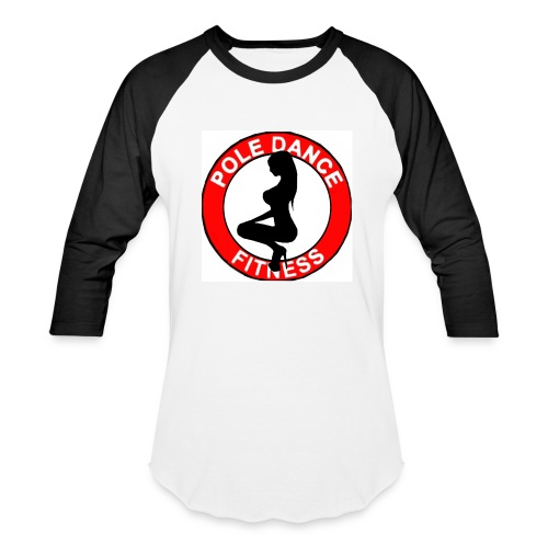 POLE DANCE FITNESS LADIES JERSEY - Baseball T-Shirt