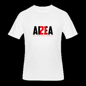 Area 21 Blk/Red Colorway Logo Tee - Men's 50/50 T-Shirt