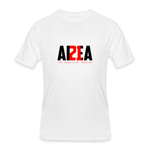 Area 21 Blk/Red Colorway Logo Tee - Men's 50/50 T-Shirt