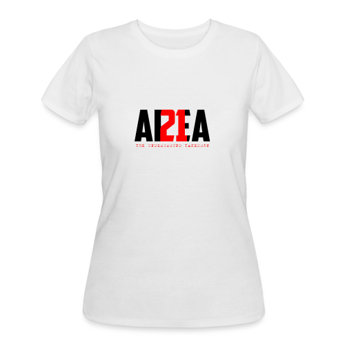 Area 21 Blk/Red Colorway Logo Tee - Women's 50/50 T-Shirt