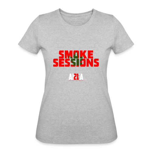 Smoke Sessions Lady Stoner Tee - Women's 50/50 T-Shirt