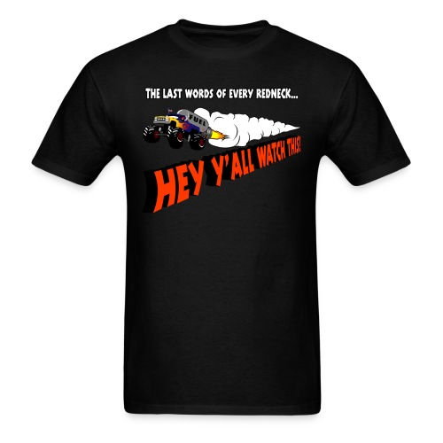 Last Words Shirt - Men's T-Shirt
