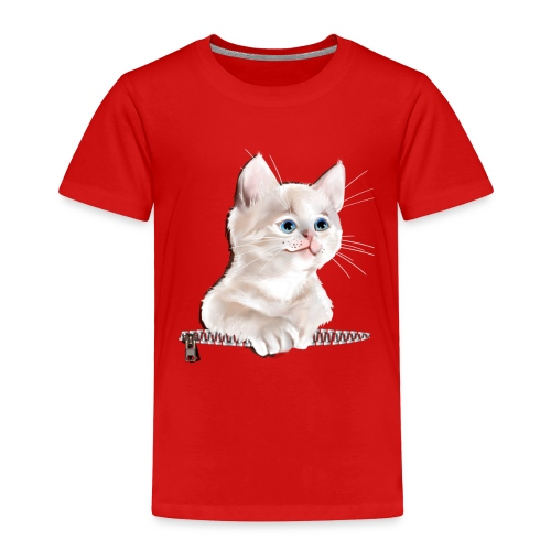 Sweet Pocket Kitten - Toddler Premium T-Shirt
