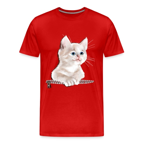 Sweet Pocket Kitten - Men's Premium T-Shirt