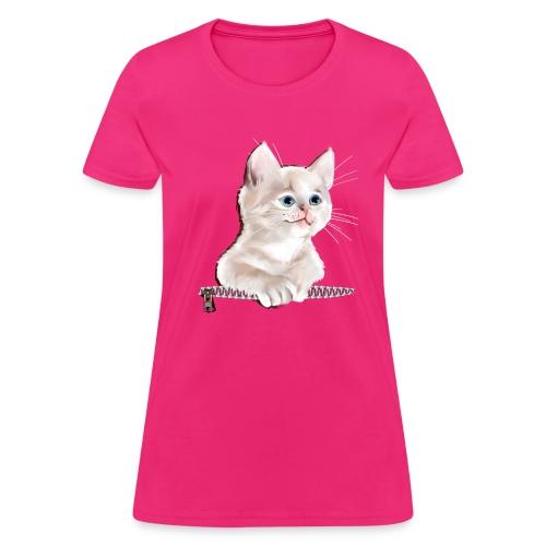Sweet Pocket Kitten - Women's T-Shirt