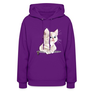 Sweet Pocket Kitten - Women's Hoodie