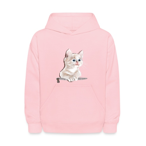 Sweet Pocket Kitten - Kids' Hoodie