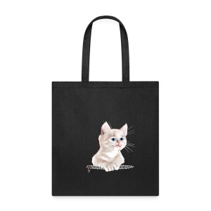 Sweet Pocket Kitten - Tote Bag