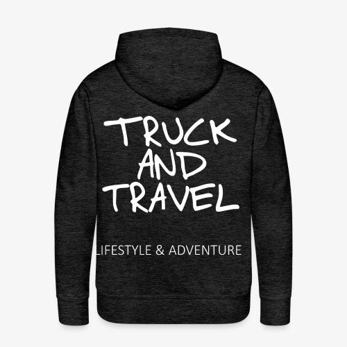 Truck and Travel Hoodie - Men's Premium Hoodie