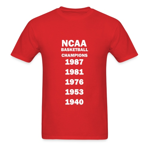 Indiana NCAA Champs - Men's T-Shirt