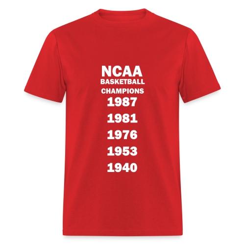 Indiana NCAA Champs - Men's T-Shirt