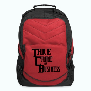 TCB Computer Bag Red/Black - Computer Backpack