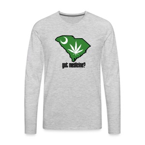 Got Medicine Men's Long-Sleeve Tee - Men's Premium Long Sleeve T-Shirt