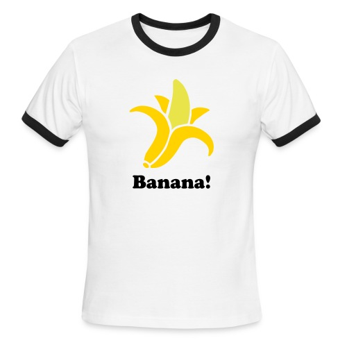 Banana Shirt! - Men's Ringer T-Shirt