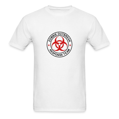 Mens Zombie Outbreak Response Team Volunteer - Men's T-Shirt