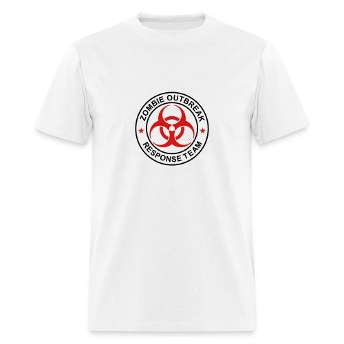 Mens Zombie Outbreak Response Team Volunteer - Men's T-Shirt