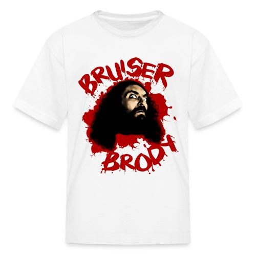 Brody#1 White (kids) - Kids' T-Shirt