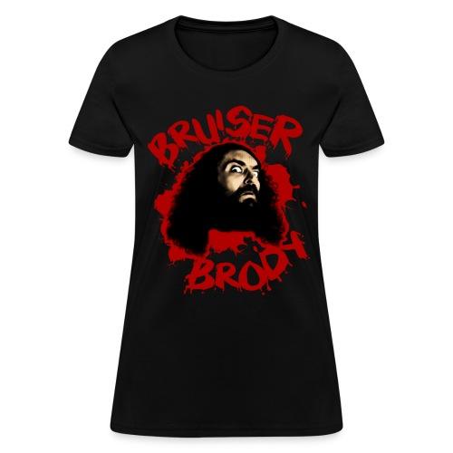 Brody#1 Black (womens) - Women's T-Shirt