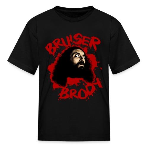 Brody#1 Black (kids) - Kids' T-Shirt