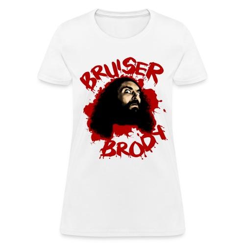 Brody#1 White (Womens) - Women's T-Shirt