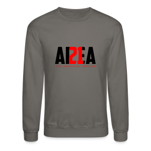Area 21 Blk/Red Colorway Logo Sweat - Crewneck Sweatshirt