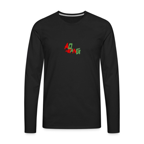 AOGANG GUCCI COLORS LONG SLEEVE  - Men's Premium Long Sleeve T-Shirt
