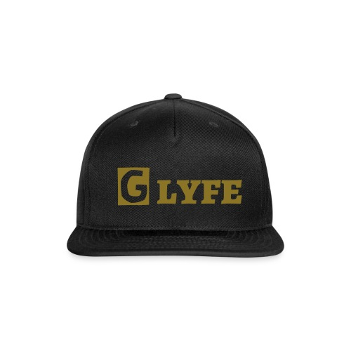 Mens G Lyfe SnapBack With Gold Lettering  - Snap-back Baseball Cap