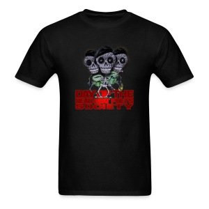 day of the dead beat poets society - Men's T-Shirt