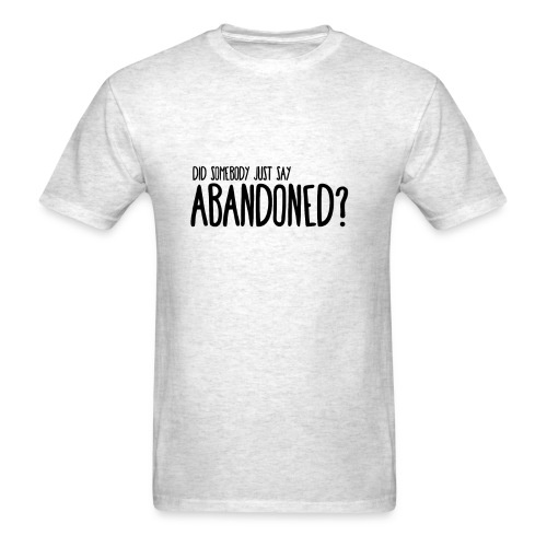 DID SOMEBODY SAY.. - Mens T-Shirt Fruit To The Loom - Men's T-Shirt